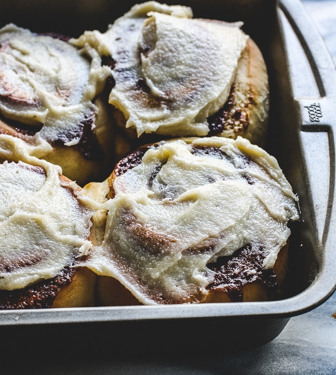 Starting with a simple bread dough made in your bread maker, this easy bread machine cinnamon rolls recipes is a classic morning treat your family will love. And you'll love how simple they are to make!