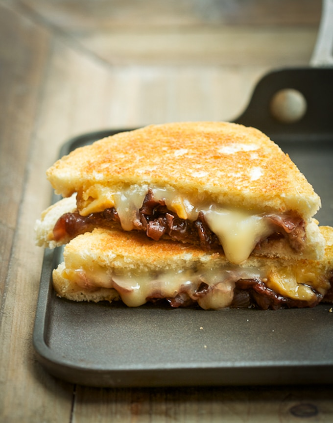 Grilled Cheese with Vidalia Onion Jam1