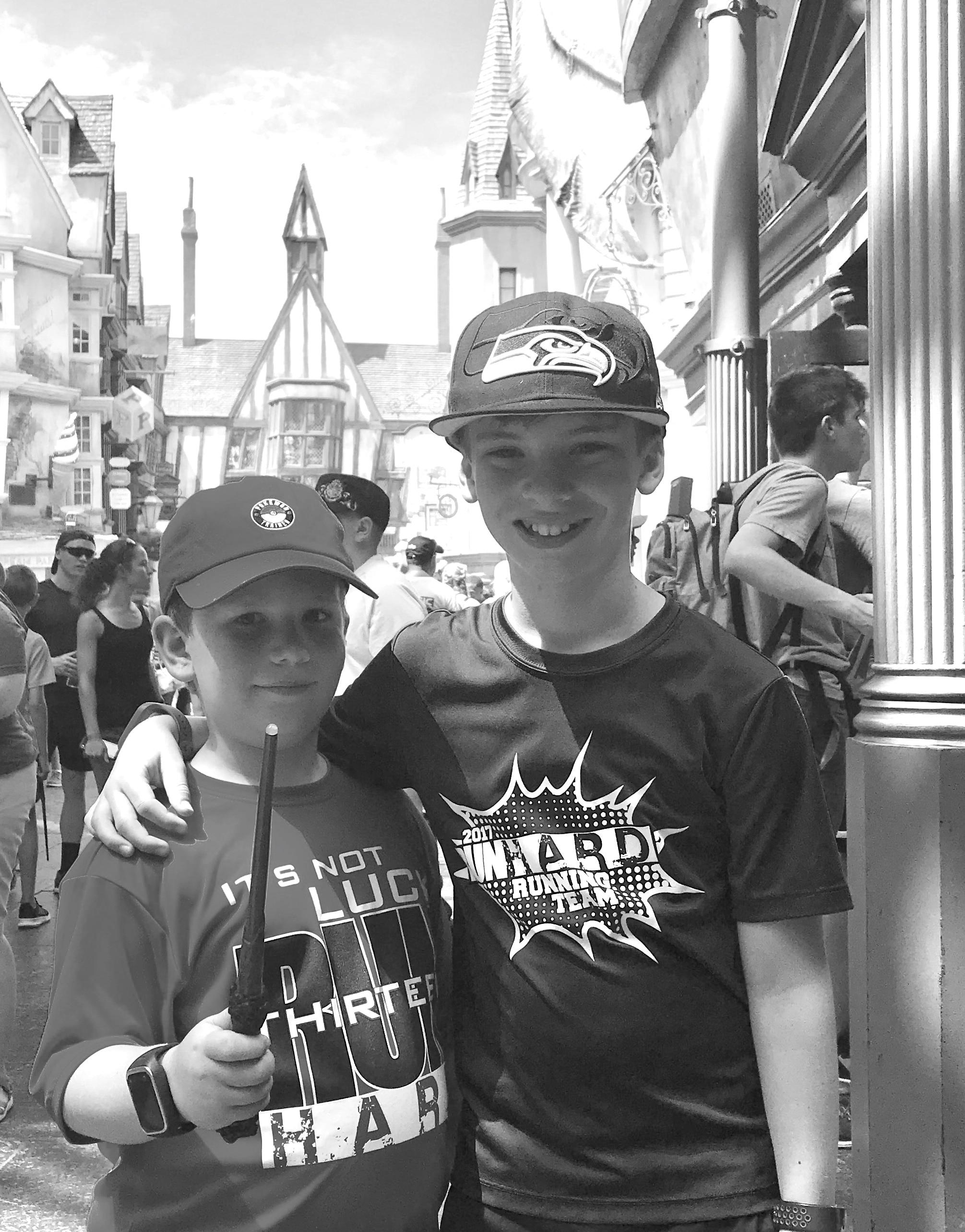 summer activities with kids - harry potter wizarding world