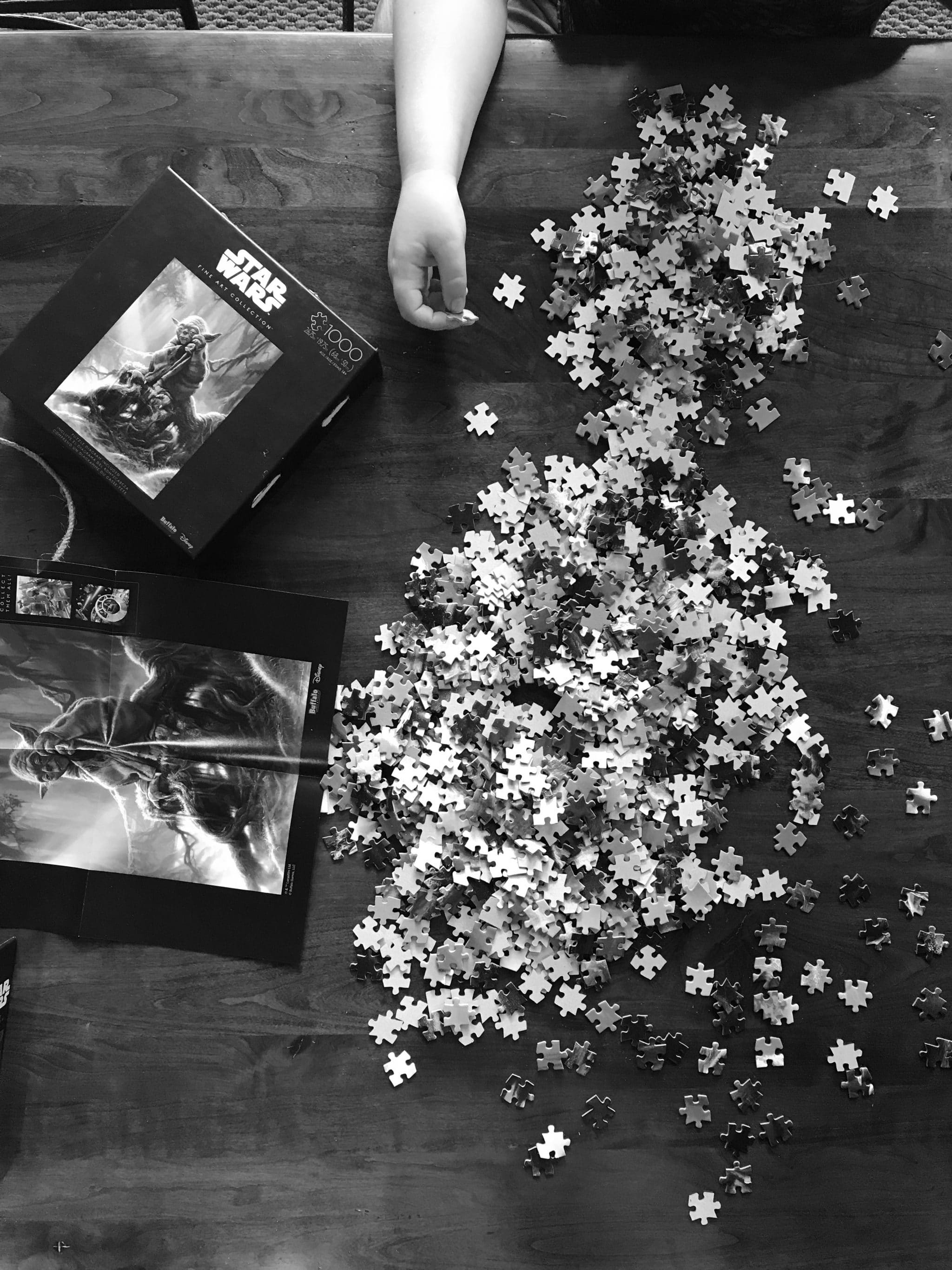 summer activities with kids - puzzles