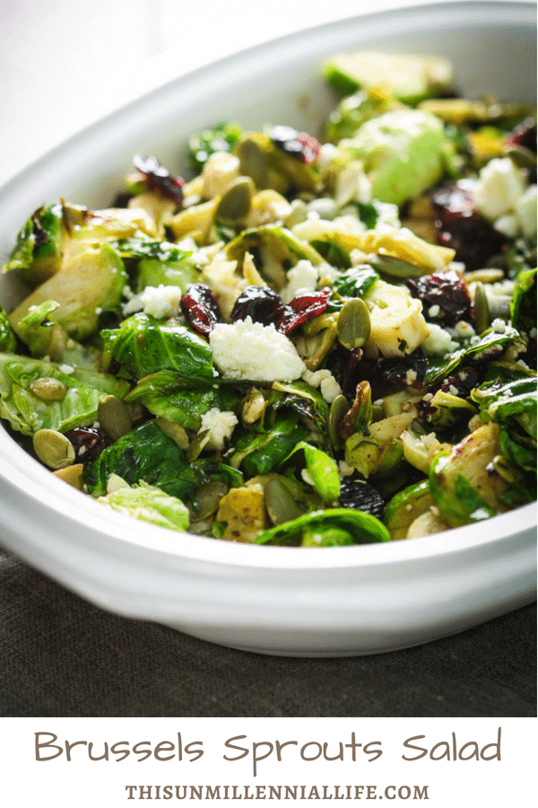 Brussels sprouts salad recipe