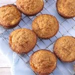 gluten free apple sweet potato muffins