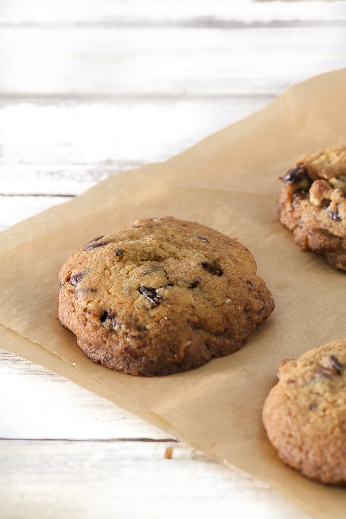 gluten free chocolate chip prune cookies
