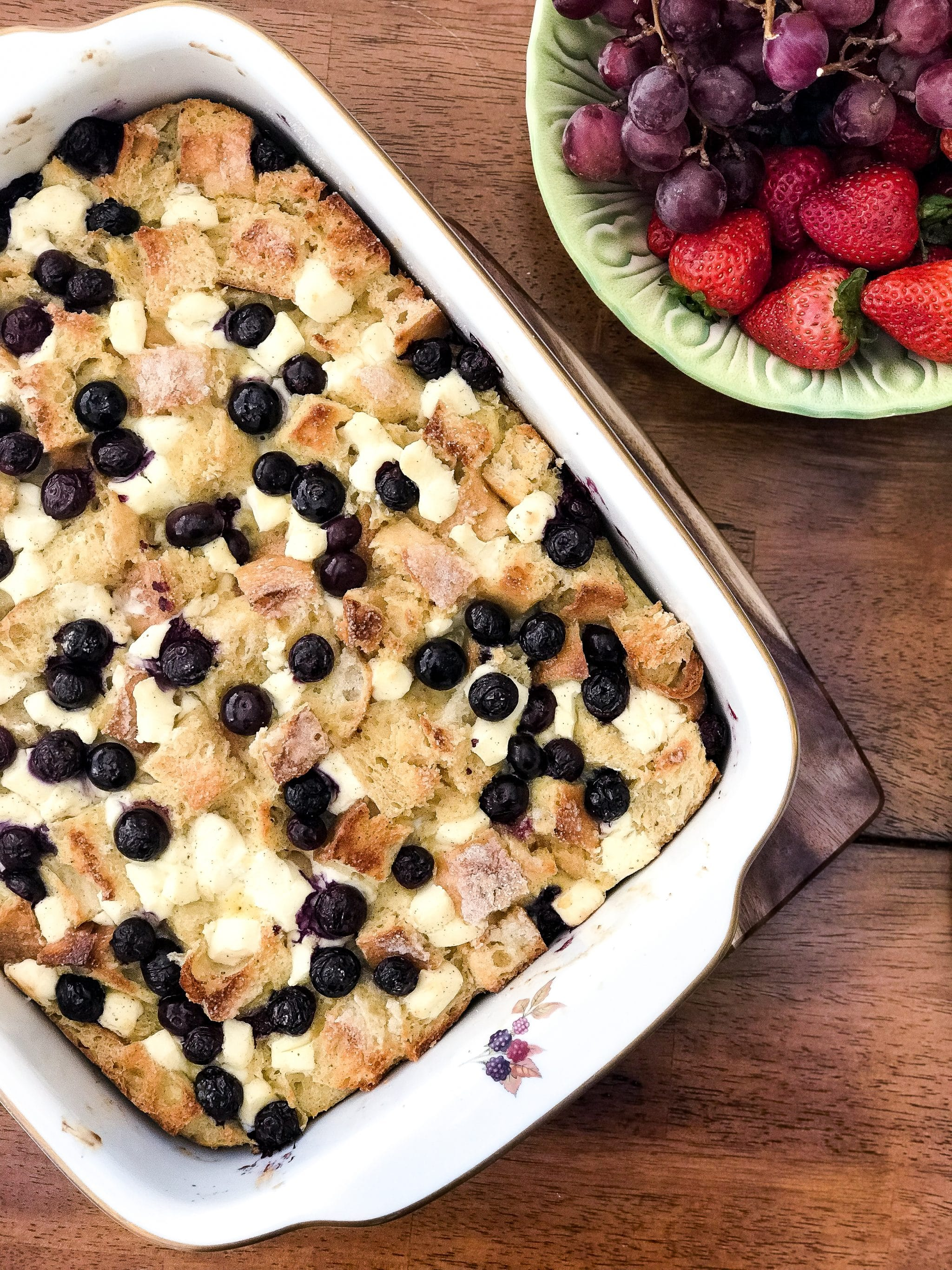 Blueberry-Cream Cheese French Toast Casserole-3