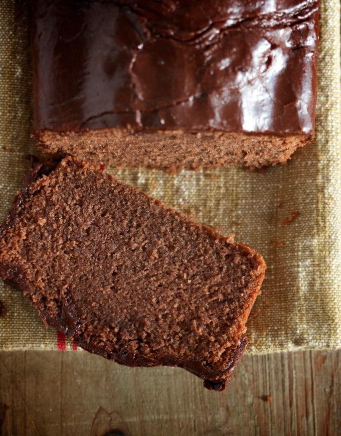 Gluten-Free Classic Chocolate Pound Cake