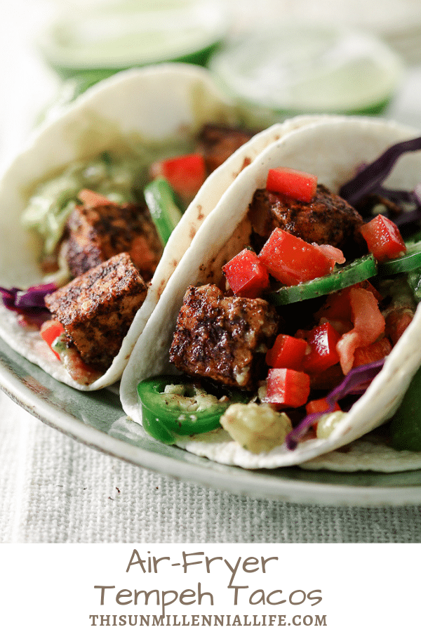 air-fryer tempeh tacos