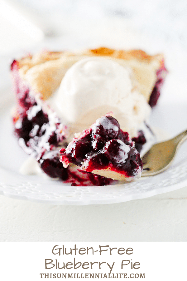 Gluten-Free Blueberry Pie