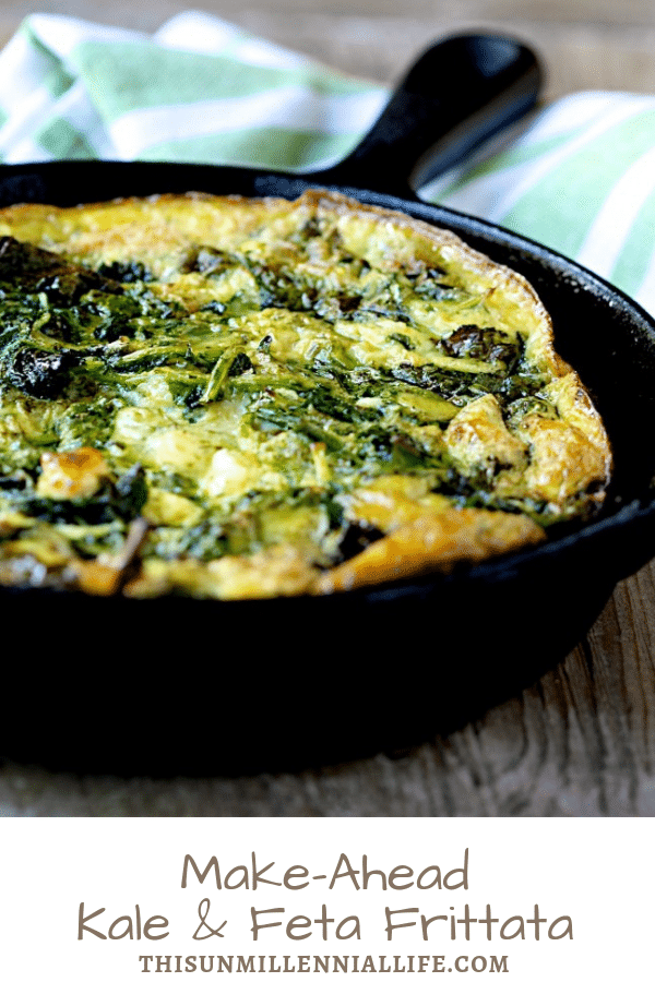 Make-Ahead Kale and Feta Frittata