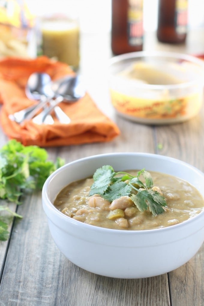 instant pot white bean chili