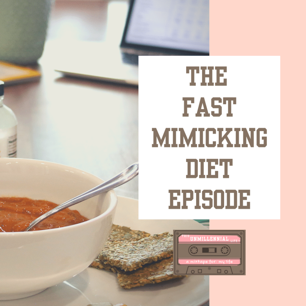 podcast about fast mimicking diet