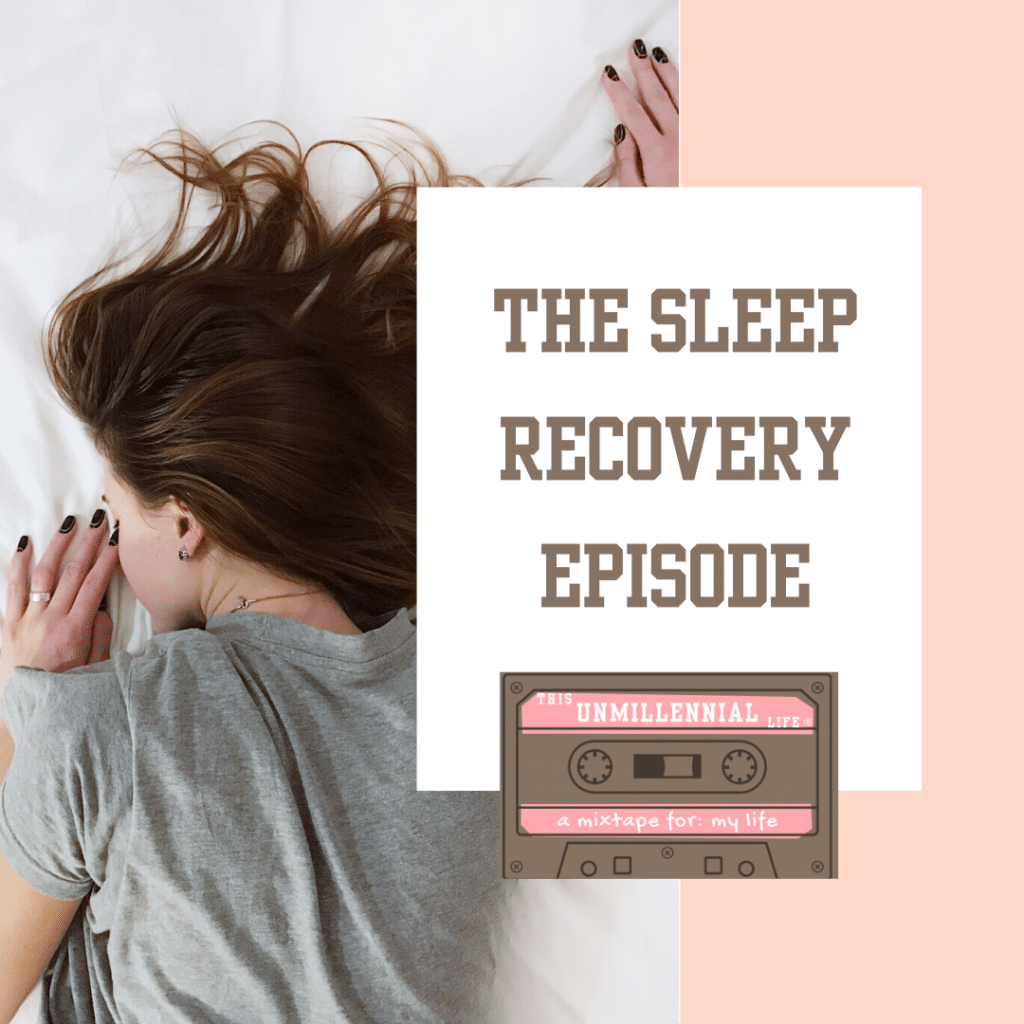 podcast about sleep recovery