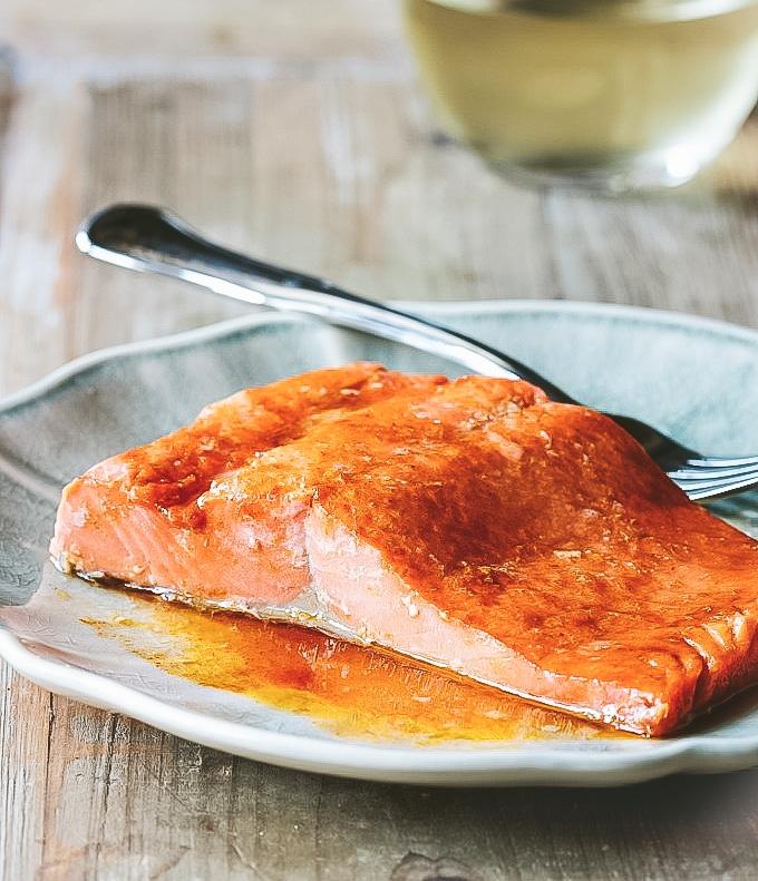 Simply Microwave Salmon