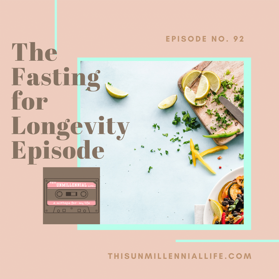 podcast about fasting for longevity